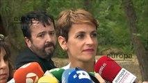 Declaraciones de María Chivite tras su encuentro con el rey en La Zarzuela