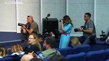 Première conférence de presse pour Oleg Sentsov