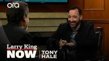 """""""It was sad"""": Tony Hale on filming his final scene on 'Veep'"""