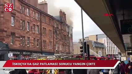 İskoçya'da patlama