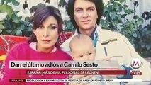 Así dieron el último adiós a Camilo Sesto