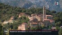 Corse : les élus nationalistes souhaitent taxer les résidences secondaires de non-Corses