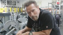 Arnold Schwarzenegger   Gym and Fridge
