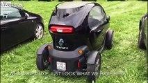 Pas très écolo : il recharge sa voiture électrique sur un générateur à essence !