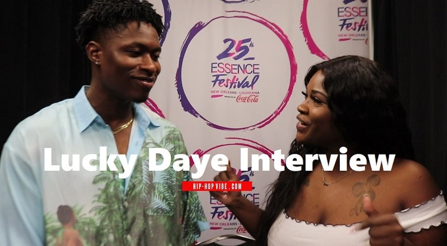 HHV Exclusive: Lucky Daye talks BET Awards performance, making fun music, having longevity, and more | Essence Fest 2019