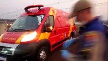 Batida entre carros deixa mulher ferida no Florais do Paraná
