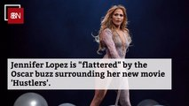 Jennifer Lopez Flattered By Oscar Buzz Over 'Hustlers'