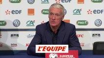 Deschamps «Le score aurait pu être plus large» - Foot - Qualif. Euro - Bleus