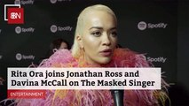 Rita Ora Joins Jonathan Ross And Davina McCall On 'The Masked Singer'