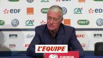 Deschamps «Antoine, il ne gamberge pas» - Foot - Qualif. Euro - Bleus
