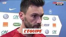 Lloris «Je suis contre l'arrêt des matches» - Foot - Bleus