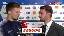Lenglet «Le contrat est rempli» - Foot - Qualif. Euro - Bleus