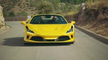 The new Ferrari F8 Spider Driving Video