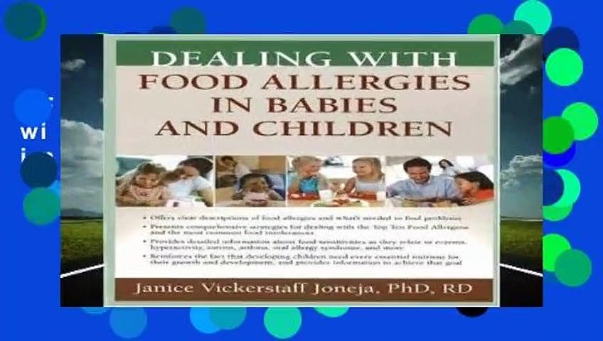 Full E-book  Dealing with Food Allergies in Babies and Children  For Online
