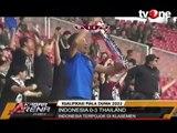 Dikalahkan Thailand 3-0, Indonesia Merana