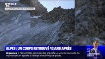 Un corps pouvant être celui d'un alpiniste disparu depuis 43 ans retrouvé dans le massif des Écrins