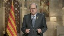 Cataluña celebra la Diada con el independentismo dividido