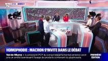 L'édito de Christophe Barbier: Homophobie, Macron s'invite dans le débat - 11/09