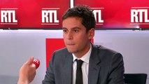 """PMA et GPA : """"Le lien n'a pas de sens"""", assure Gabriel Attal sur RTL"""