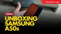 Unboxing Samsung Galaxy A50s