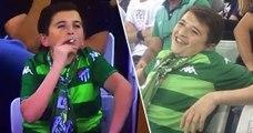 Les téléspectateurs choqués de voir un enfant fumer pendant un match de foot, sauf que…