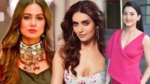 Hina Khan to be replaced by Karishma Tanna Or Gauahar Khan as Komolika in Kasauti Zindagi FilmiBeat