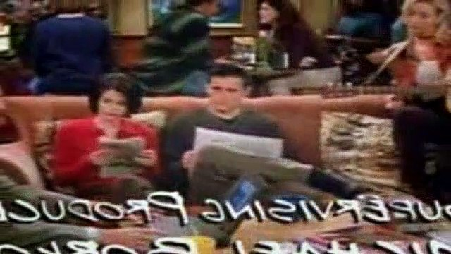 Friends Season 2 Episode 8 The One With The List