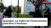 Quimper. La vidéo de l'intervention policière à Penhars