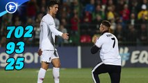Les nouveaux records de Cristiano Ronaldo affolent les Portugais, l'Italie attend déjà Matthijs de Ligt au tournant