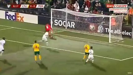 Le quadruplé de Cristiano Ronaldo contre la Lituanie !