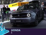 Honda e en direct du salon de Francfort 2019