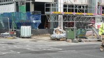 University accommodation building  not ready for students