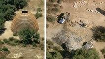 Kanye's Star Wars-Inspired Homes Demolished