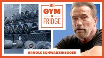 Arnold Schwarzenegger Shows His Gym and Fridge - 2019