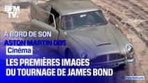 Les images prometteuses du tournage du prochain James Bond en Italie