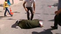 HDP İl Başkanlığı önünde eylemdeydi, babasının acı haberiyle fenalaşarak bayıldı