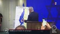 Israël : Benyamin Netanyahu promet d'annexer la vallée du Jourdain s'il gagne les législatives