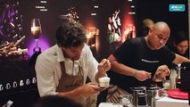 Nico Bolzico shows bartending skills, introduces his own 'Bolziccino' concoction