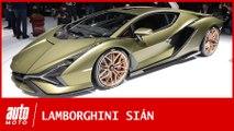 Salon de Francfort : la Lamborghini Sian reine de puissance