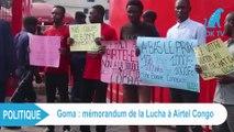 Memorandum de la Lucha à Airtel Congo