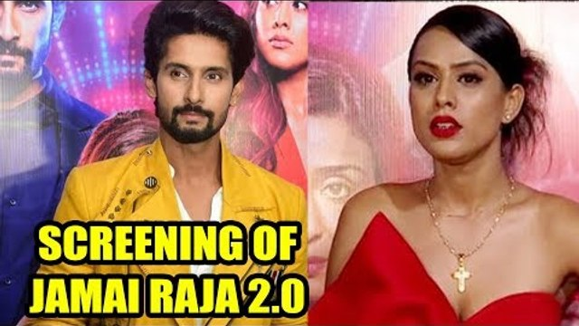 Nia Sharma and Ravi Dubey at Screening of Jamai Raja 2.0