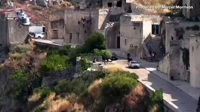 Amazing Video Shows Car Chase In Italy Filmed For New 007 Movie