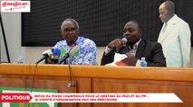 Rumeur de refus du stade Champroux pour le meeting du PDCI et du FPI : Le comité d'organisation fait des précisions