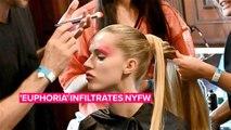 NYFW is taking beauty looks straight from 'Euphoria'