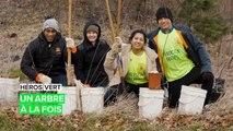 Héros vert : Planter des arbres au service de l'environnement