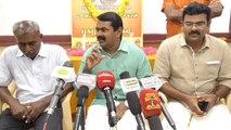 திராவிட அரசியல்தான் காரணம்.. திமுக, அதிமுக மீது சீமான் பாய்ச்சல்-வீடியோ