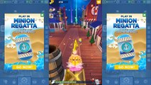 Minion Rush,Minion Regatta Event with Grandpa Minion,Fairy Princess Minion,Baker Minion,Snorkeler