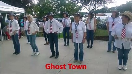 Ghost Town Line Dance Country