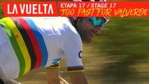 Allure rapide selon Valverde / Too fast for Valverde - Étape 17 / Stage 17 | La Vuelta 19