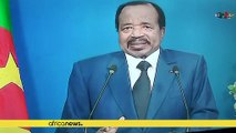 Biya announces dialogue to solve Cameroon's Anglophone separatist crisis